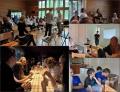 Aktivitātes nometnē – sadraudzība, Bībeles studijas, semināri, slavēšana, volejbols, UNO spēļu vakari utt....