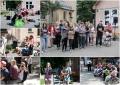 Dārza svētkos vācu jaunieši bija sagatavojuši priekšnesumu